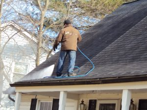 Roof Pressure Cleaning In Maryland